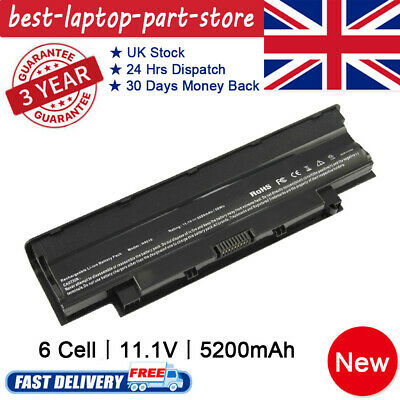 For DELL INSPIRON 15R N5010 N5110 17R N7010 N7110 BATTERY J1KND 4YRJH Fast Ship • 15.99£