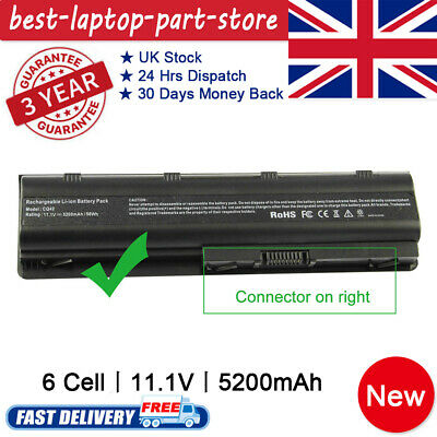 Battery For HP Pavillion G6-2212sa Laptop HP 593553-001 11.1V 5200mAh 6 Cell Top • 15.49£