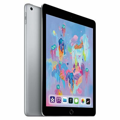 Apple IPad 6th Generation 2018 9.7  32GB Space Grey FAST AND FREE DELIVERY MR7F2 • 269.99£