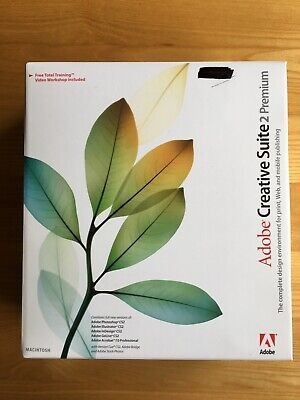 Adobe Creative Suite 2 Premium Upgrade For MAC - Complete With Serial Numbers • 7.50£