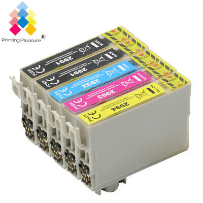 5x Ink Cartridges For Epson XP 235 245 332 342 345 432 435 442 335 445 Printers • 5.49£
