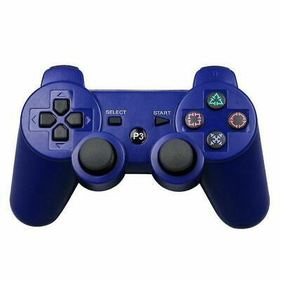 Bluetooth Game Console Controller For Playstation And Raspberry Pi - Blue • 14.99£