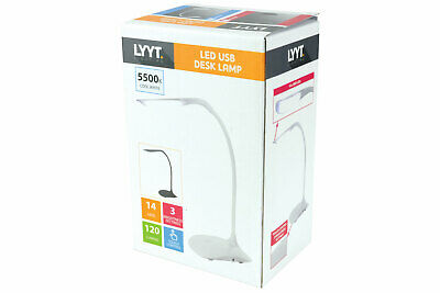 LYYT Compact Battery/USB Powered Desk Lamp NEW • 13.78£