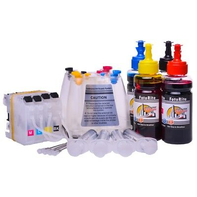 Non Oem Ciss Continuous Ink System Fits Brother MFC J6720DW • 39.99£