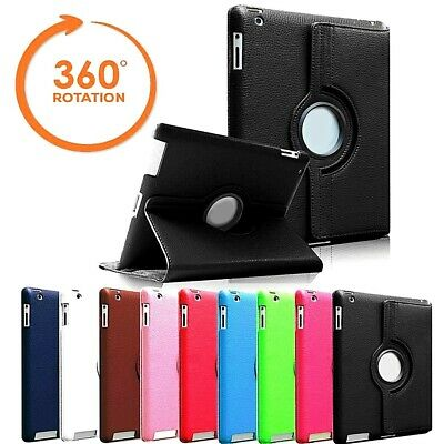 IPad 360 Rotating Stand Case Cover Fits Apple IPad 5th Generation 2017 9.7  • 4.99£