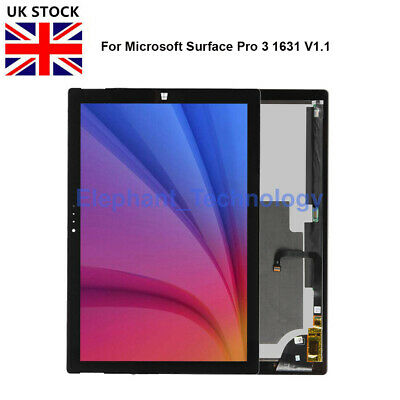 GB For Microsoft Surface Pro 3 V1.1 LCD Touch Screen Digitizer Assembly 1631 • 96.99£