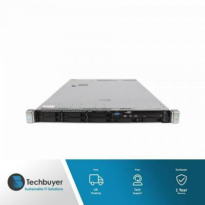 HP DL360 GEN9 CTO CHASSIS B140I 5 XFAN 8 X SFF - UPGRADED TO V4 - 755258-B21 • 420£