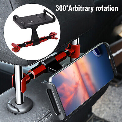 Universal Car Tablet Holder Headrest Seat Mount Stand For 4''-11'' IPad /Phone • 5.39£