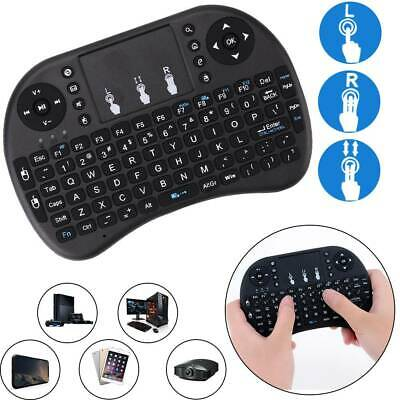 Mini Wireless Keyboard Touchpad Backlight Keypad For Android TV Box UK English • 5.79£