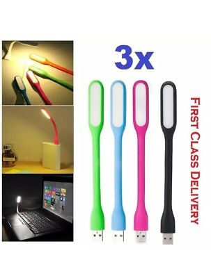 USB LED Light Flexible Bright Portable Lamp PC Computer Laptop Notebook • 1.99£