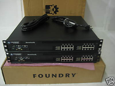 Pair FCSLB16-FLX2GE Foundry ServerIron XL Load Balancer • 862.08£
