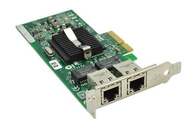 HP NC360T Dual-Port Gigabit NIC PCI-E Server Adaptor PCIE Low Profile Card DP LP • 11.50£