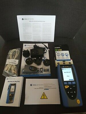 NAVITEK NT PLUS - Network Analyser, Kit, Troubleshooter, LCD Colour, 10Mbps,  • 450£