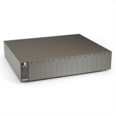 D-Link DMC-1000 Chassi 16slot Media Conv 19  Chassis • 344.01£