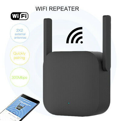 Xiaomi WiFi Repeater Home Wireless Signal Network 300Mbps Extender Router Ns • 12.55£