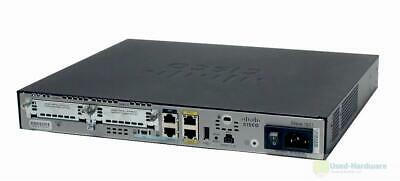 Cisco 1921 Integrated Services Router | IPBase/K9 Or SEC/K9 License | Rack Ears • 35£