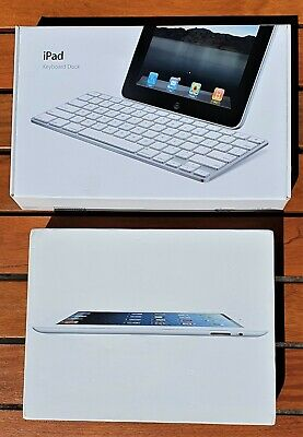 Apple IPad 2nd Gen 16GB, Wi-Fi, 9.7in, White, Apple Keyboard Dock • 100£