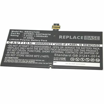 Battery For Microsoft Surface Pro 4 1724 Replacement DYNR01 G3HTA027H 5050mAh • 43.99£