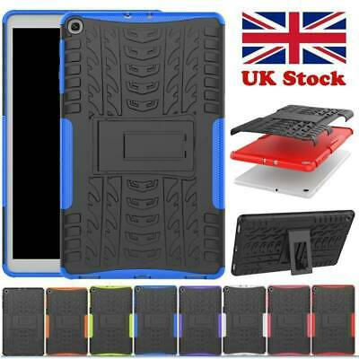 For Samsung Galaxy Tab A 10.1  2019 T515 T510 Hard Rugged Kickstand Case Cover • 9.99£