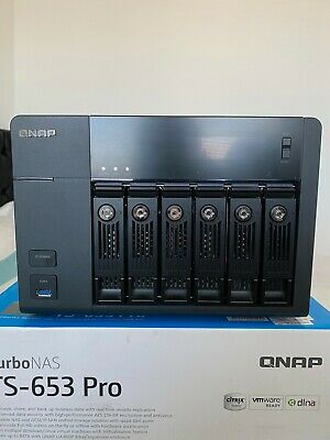 Qnap TS-653 Pro 16GB Ram And 2TB WD Green Drive. Out Performs Atom Based NAS • 214£