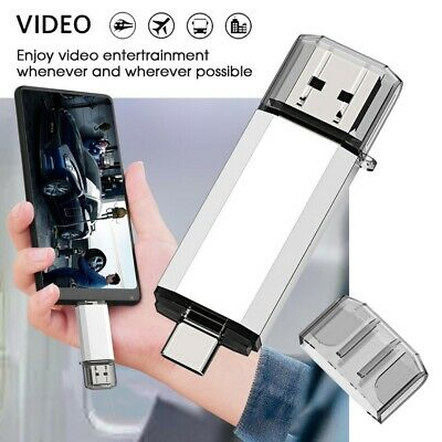 Photo Stick 32G Type-C USB Flash Drives Memory Stick U Disk For Android Phone PC • 5.19£