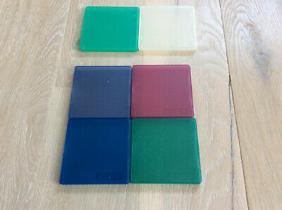6 X Hinged Plastic Cases For Single 3.5  Floppy Disks/diskettes • 20£