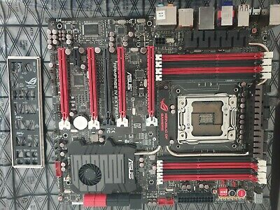 ASUS RAMPAGE IV EXTREME Motherboard LGA2011 Intel X79 DDR3 With I/O • 56£