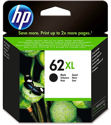 Original HP 62 / 62XL Black & Colour Ink Cartridges For ENVY 5540 Printer • 30£