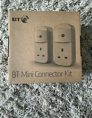 BT Mini Connector Kit V2 Works With All Broadband Providers Up To 1GB -Powerline • 39£