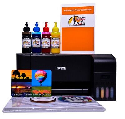 Sublimation Printer A4 Non Oem Epson L3150 Starter Bundle Kit With Software  • 265£