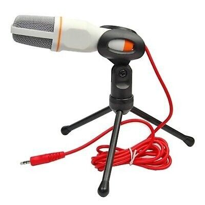 Professional Condenser Sound Recording Microphone Mic Fr PC Laptop Skype Youtube • 11.49£
