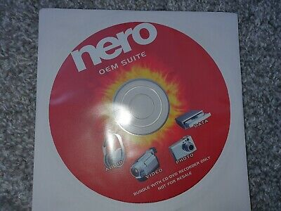 Nero 6 OEM Suite CD-ROM Replacement Software Disc For CD/DVD Recorders PC Drives • 4.75£