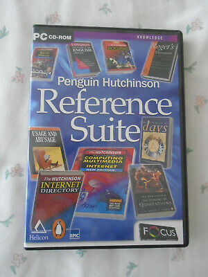 PC CD-ROM: Penguin Hutchinson Reference Suite • 1.50£