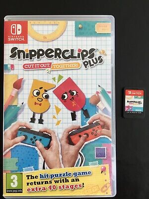 Nintendo Switch Snipperclips • 12.50£