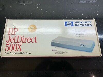 HP JetDirect 500X - In Original Packaging • 24.99£