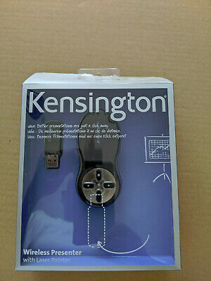 Kensington Red Laser Presenter Remote Wireless Control With USB • 14£