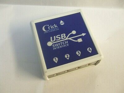 Crick Software USB Switch Interface CRICKUSB001 Free UK Delivery • 49.99£