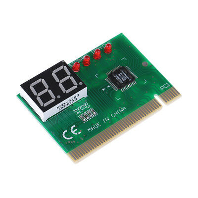Pc Diagnostic 2-Digit Pci Cards Motherboard Tester Analyzer Code For Computer F4 • 4.31£