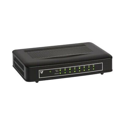 V7 Wired Ethernet 8-Port Switch NS1142-E8 • 24.99£