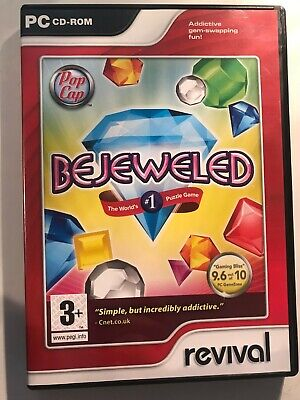 Bejeweled (PC CD-ROM) *Fast Dispatch* • 2.75£