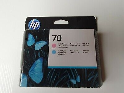 HP 70 Light Magenta Light Cyan Printhead • 60£