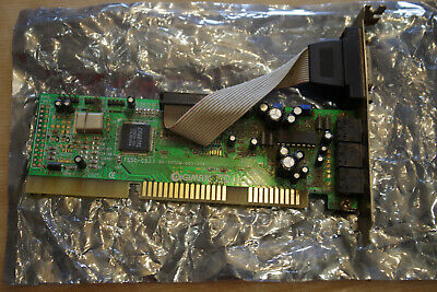 CRYSTAL Cx4235-XQ3 ISA Sound Card DIGIMATE 3D Sound • 19.99£