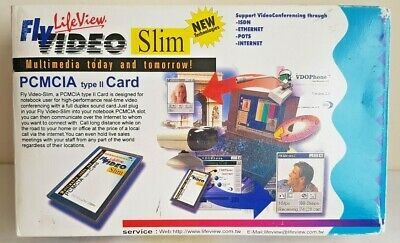 Lifeview Flyvideo Slim PCMCIA Type 2 Card, Real-time Video Multimedia • 50£