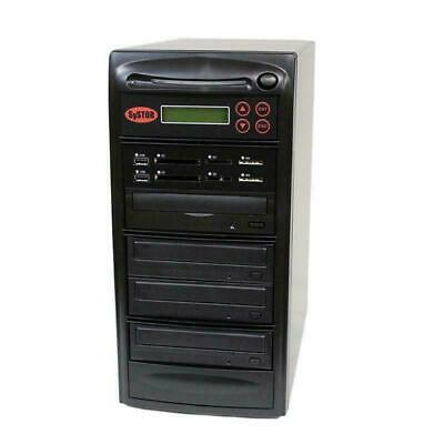 SySTOR 1-3 MultiMedia PLUS - Flash Memory Drive To Disc Backup+CD/DVD Duplicator • 995£