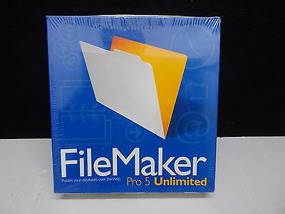 FileMaker Pro 5 Unlimited For Windows And Macintosh • 692.40£