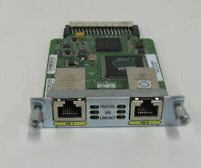 Cisco Hwic-2fe. 90 Day Warranty. Free Uk Shipping • 55£