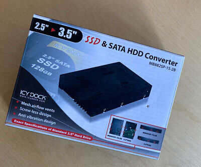 ICY DOCK 2.5 To 3.5 SSD / SATA HDD Converter • 10.50£