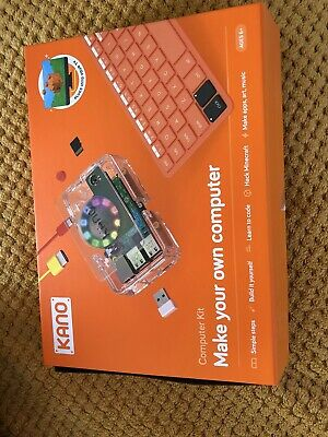 KANO MAKE YOUR OWN COMPUTER KIT- Excellent Condition • 24£