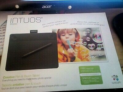 Wacom Intious Photo Pen And Touch Tablet • 35£