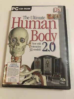 The Ultimate Human Body 2.0 PC CD-ROM - Factory Sealed • 2.99£